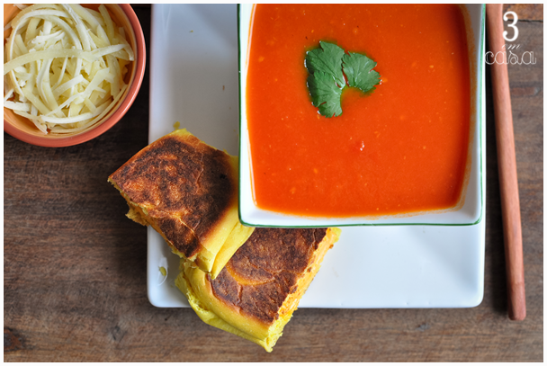 sopa tomate receita