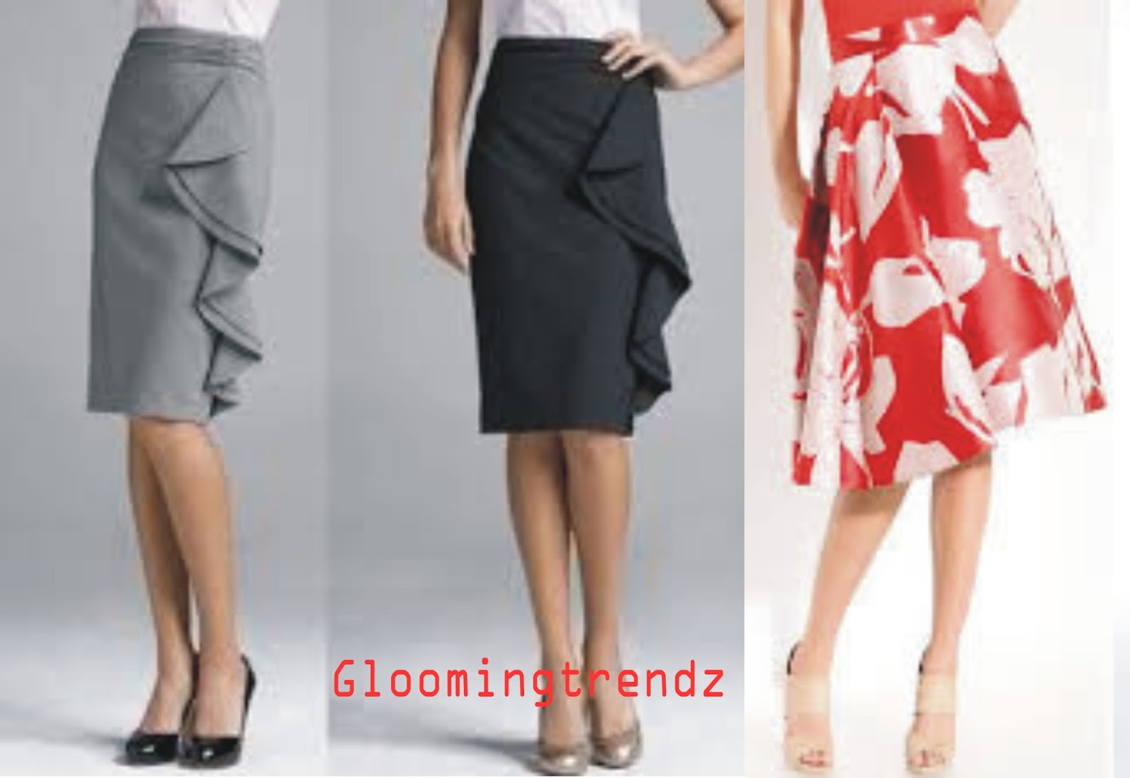 how to style midi skirt glooming trendz