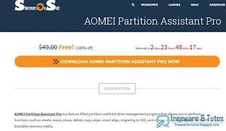 giveaway : AOMEI Partition Assistant Pro 6.0 gratuit ! (3 jours)
