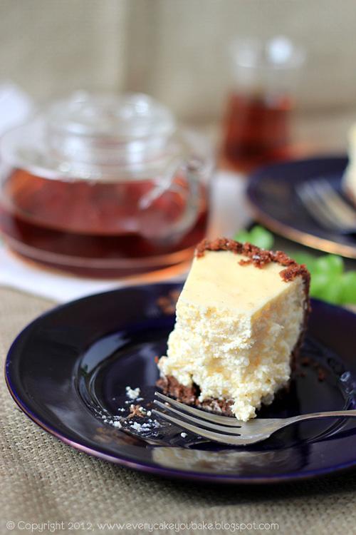 sernik waniliowy z dodatkiem perełek tapioki