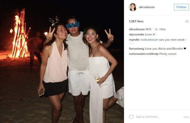Hot at 47! Alice Dixon Flaunts Her Sexy Body at a Beach Party in El Nido! SEE IT HERE!