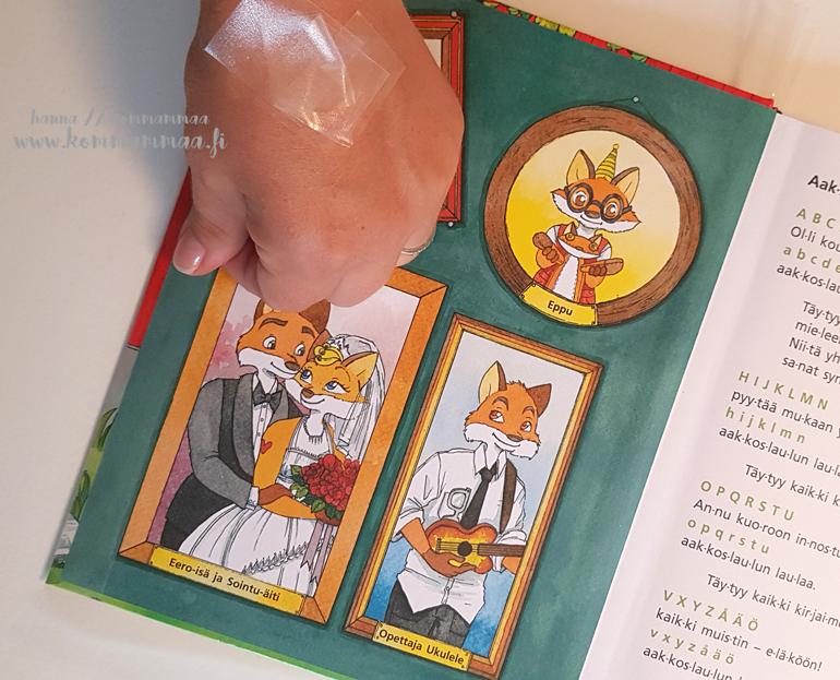 kirjan päällystäminen kontaktimuovilla
