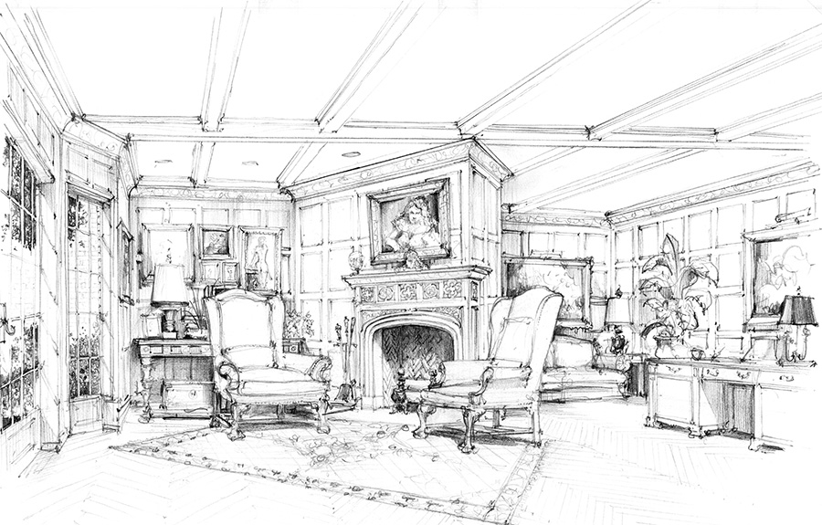 11-Fusch-Architects-Interior-Design-Drawings-Authentic-Period-Detailing-www-designstack-co