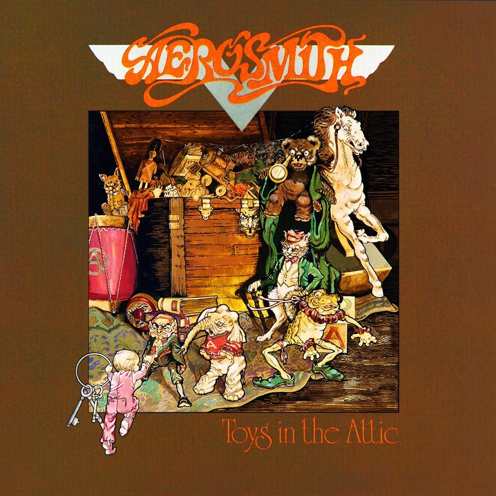 Entertaining Aerosmith toys in the attic album opinion