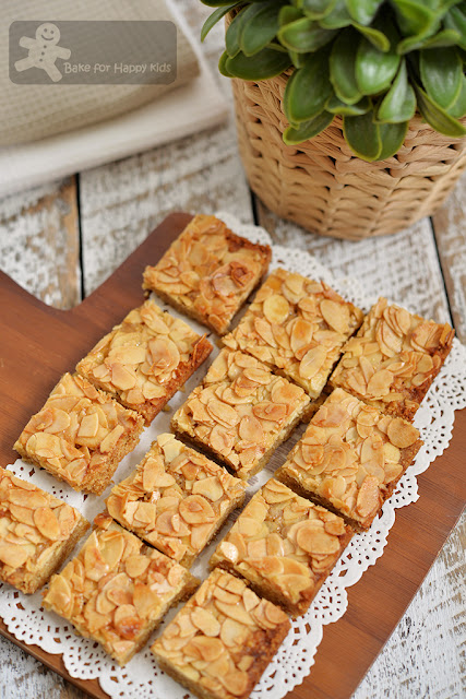 honey almond slice
