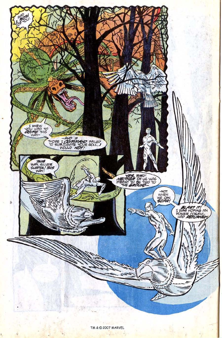 Read online Silver Surfer (1987) comic -  Issue #8 - 22