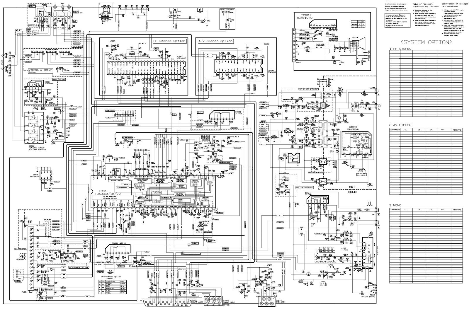 Electro help: LG RF-21FB20R, LG RT-21FB20R - 21 inch CRT ...