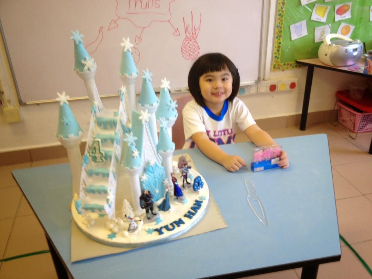The Sensational Cakes Feedback Frozen Caslte Theme Cake