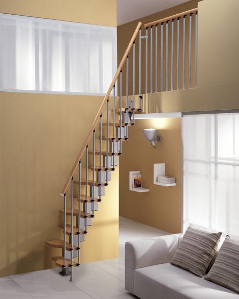 decoraci n minimalista y contempor nea escaleras con estilo. Black Bedroom Furniture Sets. Home Design Ideas