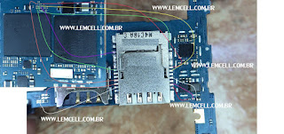 Samsung Gran Prime G530 Jumper Conector de Chip 2 / Sim 2 Solution Ways