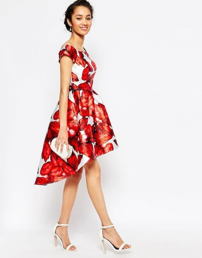 #4 Floral Print Bridesmaid Dress SUMMER | bridal wedding ...