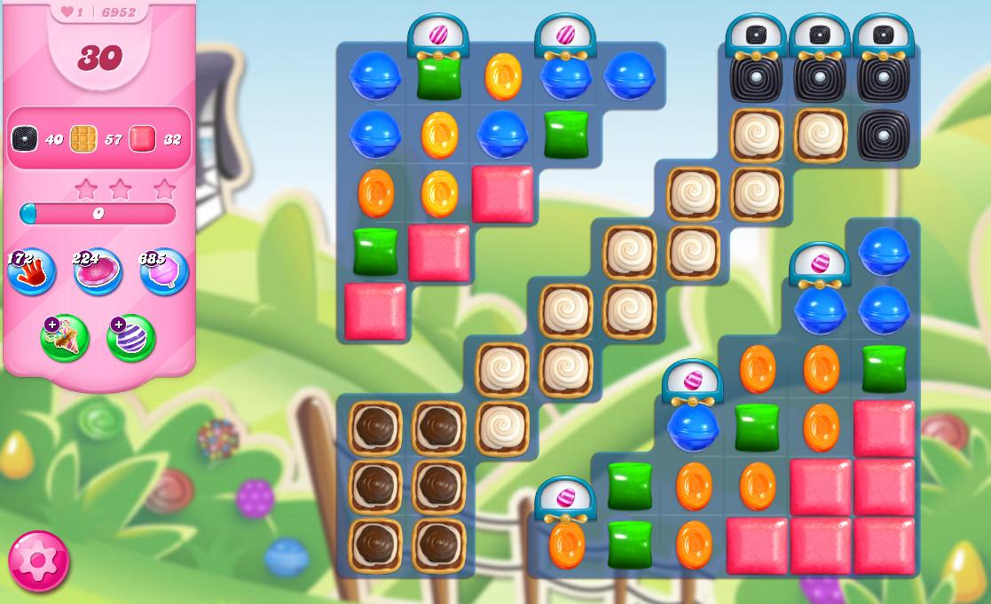 Candy Crush Saga level 6952
