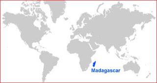 Gambar Peta letak Madagaskar