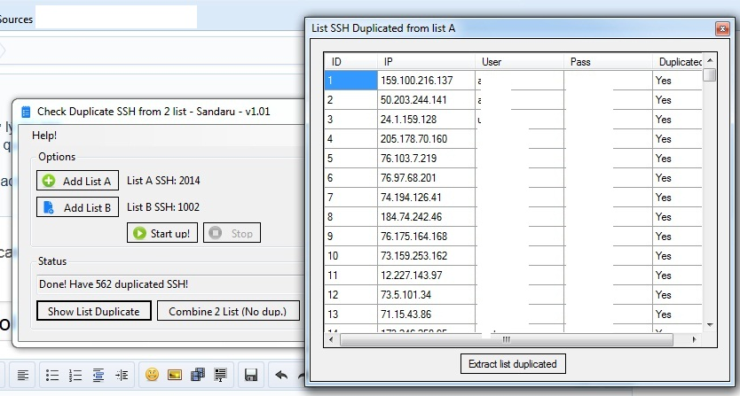 Tool Check Duplicate SSH | SSH FREE TODAY