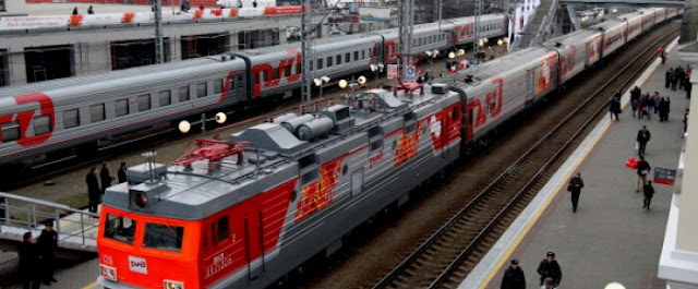 Russia The Third Biggest Railway Network