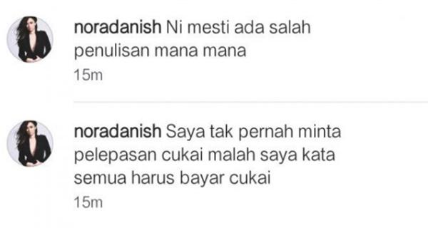 Isu Pelepasan Cukai, Akhirnya Nora Danish BUKA MULUT Dedah Perkara Sebenar!