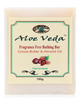 Aloe Veda Almond Oil and Cocoa Butter Soap