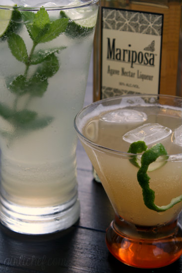 Mariposa Agave Nectar Liqueur + some cocktails <i>{product review}</i>