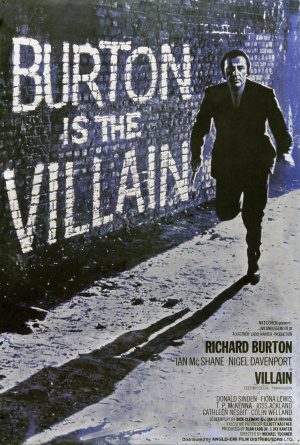 British poster for Villain (1971)