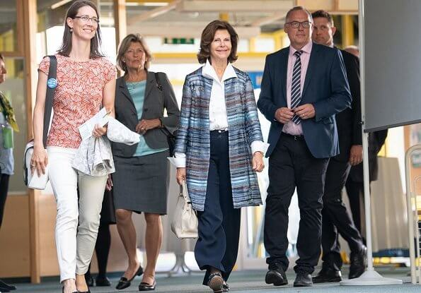 Queen visited the Isle of Mainau (Konstanz) on the occasion of the 25th anniversary
