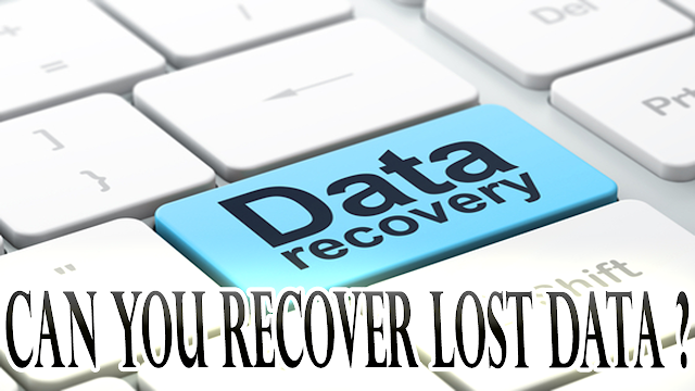 Can You Recover Lost Data ?