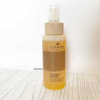 Gyada Cosmetics review verdebio cristalli liquidi