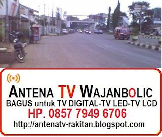 Jual ANTENA TV WAJANBOLIC  Penggilingan  Jakarta Timur