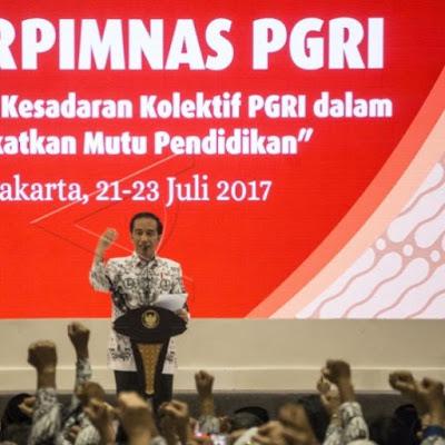 Rekomendasi Hasil Rakorpimnas PGRI Tahun 2017
