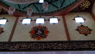 Jasa Kaligrafi Surabaya, Desain Kaligrafi Masjid, Harga Kaligrafi dinding masjid
