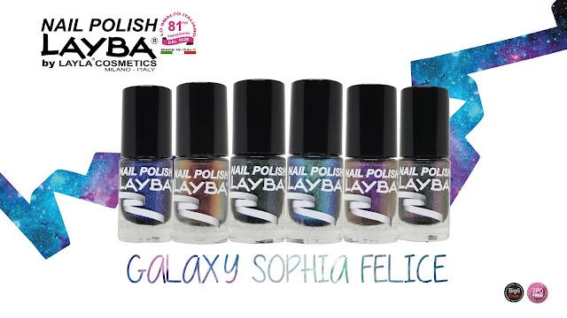 collezione layba galaxy sophia felice