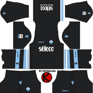 S.S. Lazio kits 2017/18 - Dream League Soccer