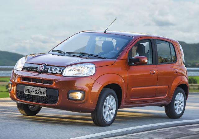 Fiat têm reajuste de preços em Junho de 2016