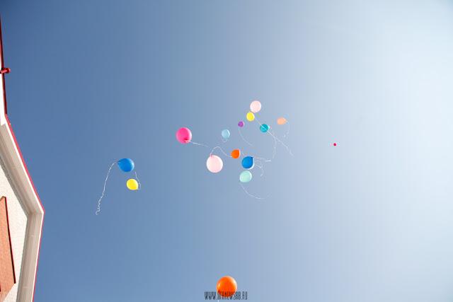 Экологи просят не запускать в небо воздушные шары и фонарики