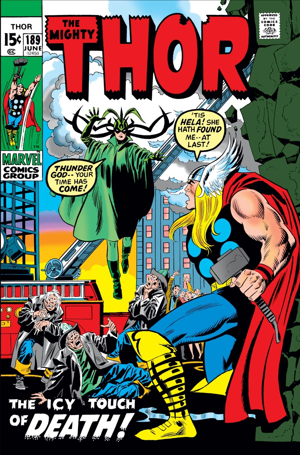 Thor (1966) 189 Page 1