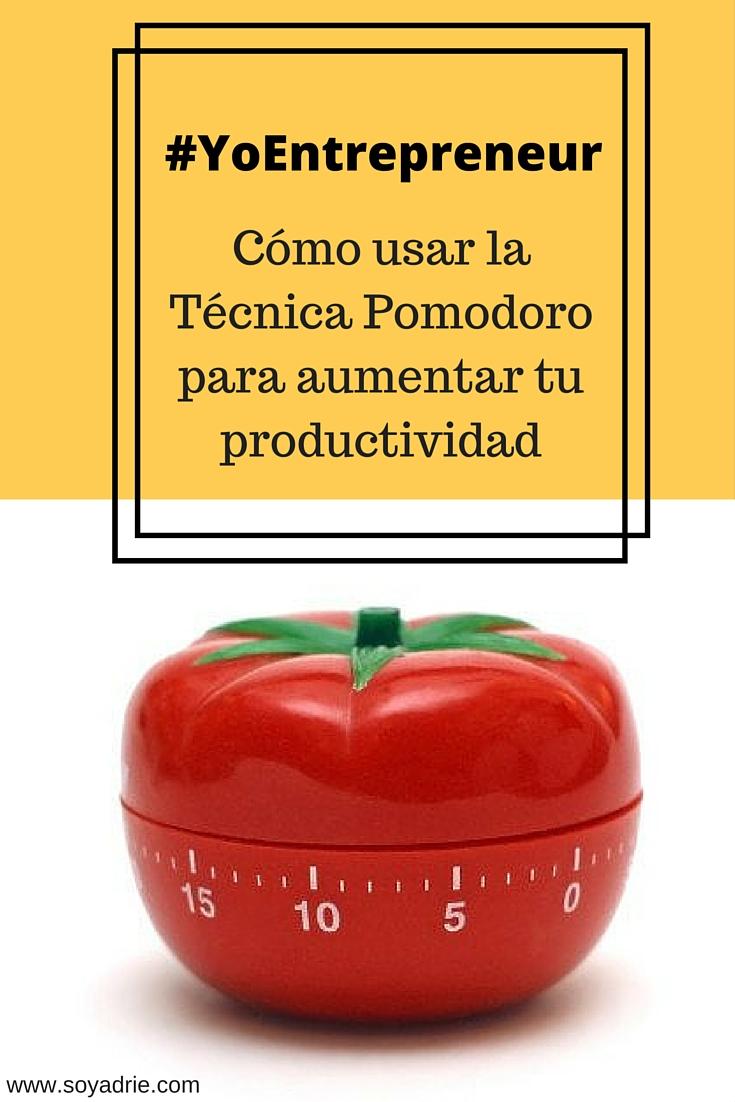 Cómo usar la Técnica Pomodoro para aumentar tu productividad