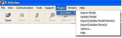 Gerber AccuMark V-Stitcher Interface - Lectra Wilcom