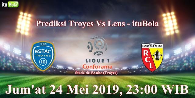 Prediksi Troyes Vs Lens - ituBola