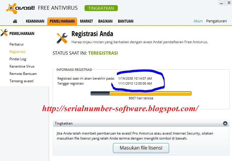 Download avast terbaru dan serial key 2016