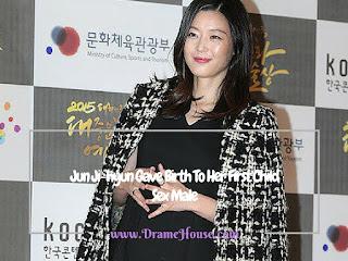 Anak Pertama Jun Ji Hyun & Choi Jin Hyuk Laki-laki