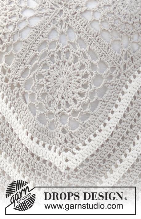 Tejiendo Crochet: Poncho Crochet Sweet Martine
