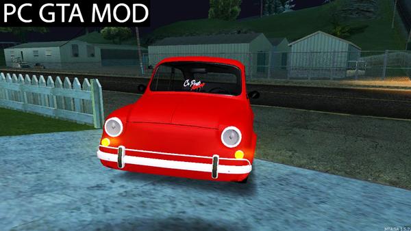 Free Download Zastava 750Fiat 600 Turbo  Mod for GTA San Andreas.