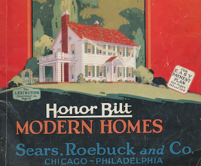 5 window Sears Lexington Cover 1928 Sears Modern Homes catalog