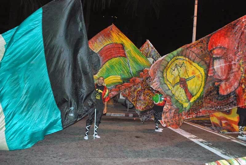 Desfile Inaugural del Carnaval. Mi Morena.