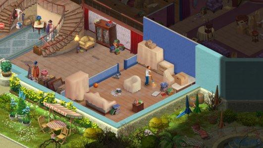 Screenshot game Homescapes