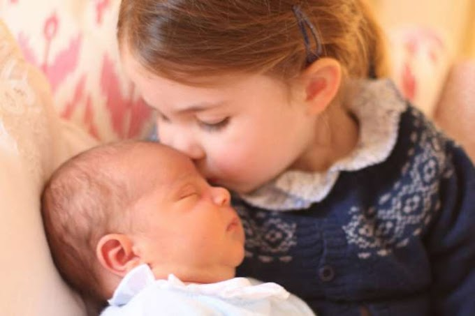 UK royals release pictures of newborn Prince Louis