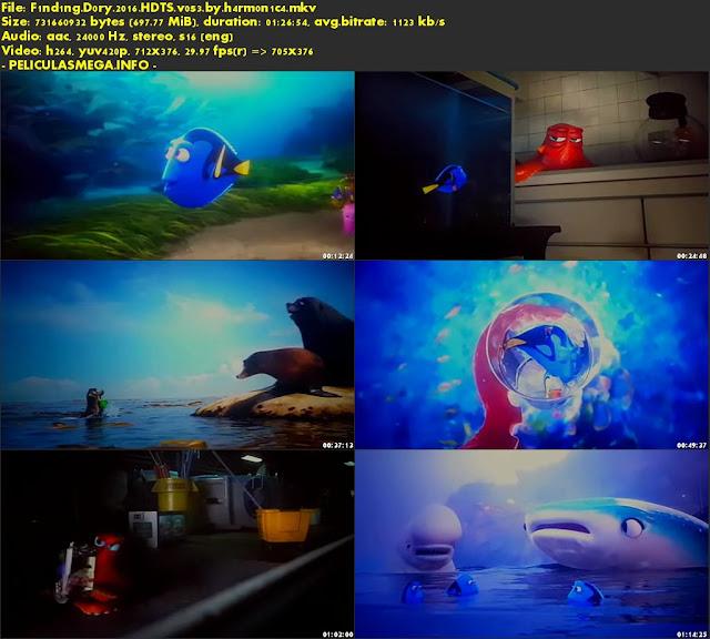 Descargar Finding Dory Subtitulado por MEGA.