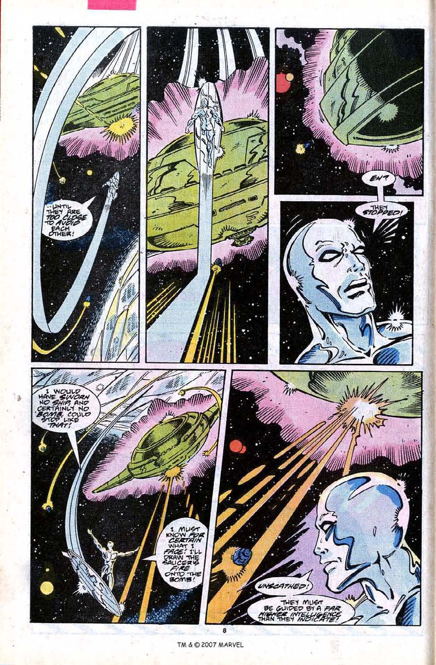 Read online Silver Surfer (1987) comic -  Issue #24 - 10