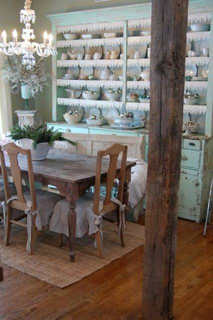 A Rustic Provencal Dining Room 2