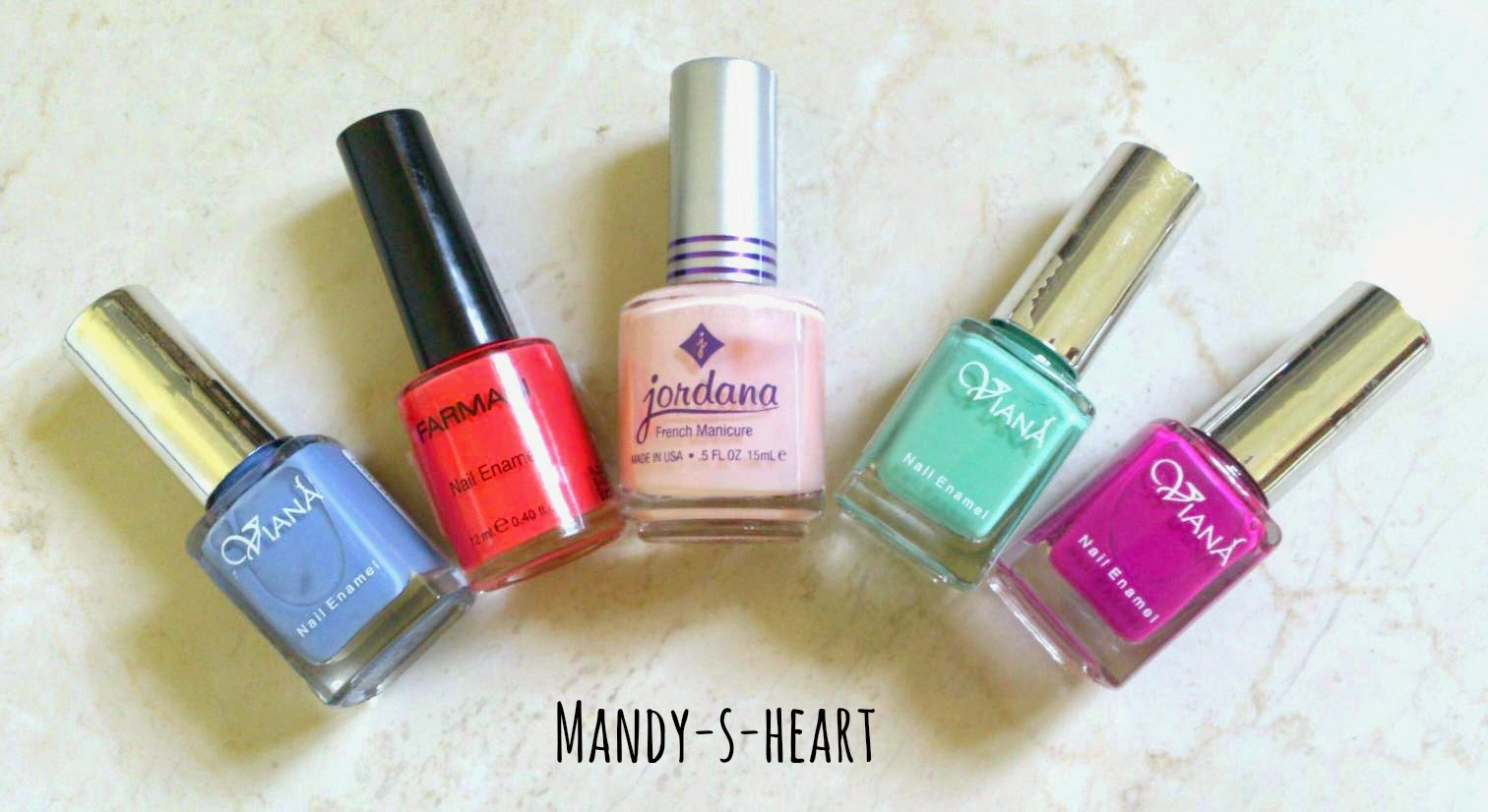 Spring/Summer Nails - Mandy-S-Heart