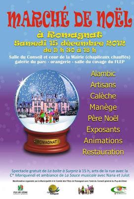 Marché de Noël 2012, Romagnat